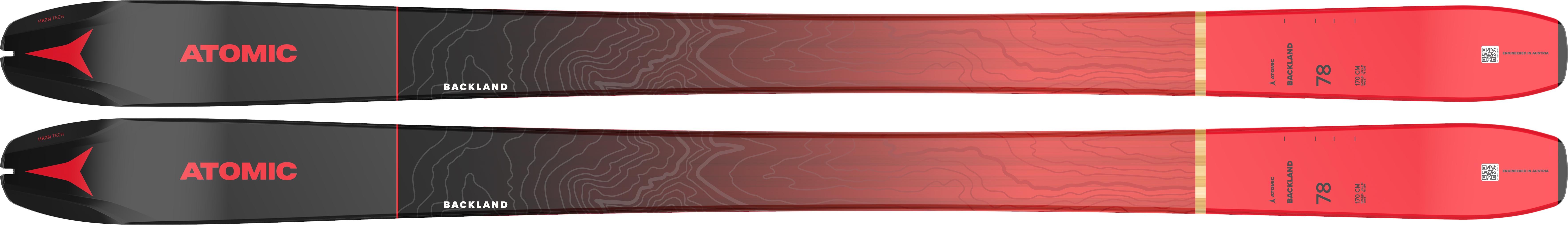 N BACKLAND 78 BLACK/Red